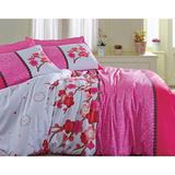 Комплект 1,5-спальный, бязь &#34Тете-а-тете  Classic&#34 Сакура, артикул Э-1357-01, производитель - Тете-а-тете Classic
