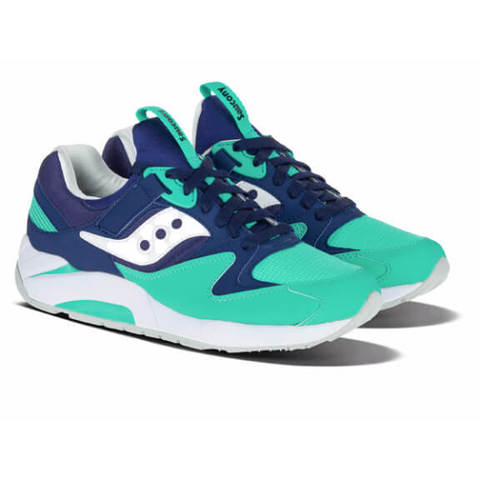 Кроссовки SAUCONY Grid 9000 Navy/Green