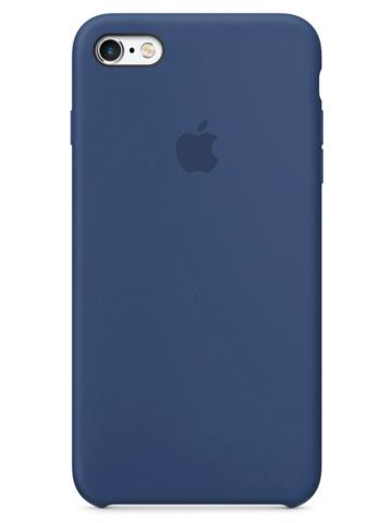 Чехол iPhone 6S Silicone Case /alaskan blue/ морской лёд 1:1