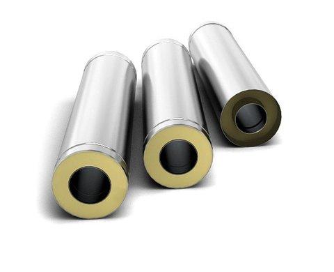 Труба-сэндвич TMF Ø140/240 0,5 м. 0,5 мм. нн