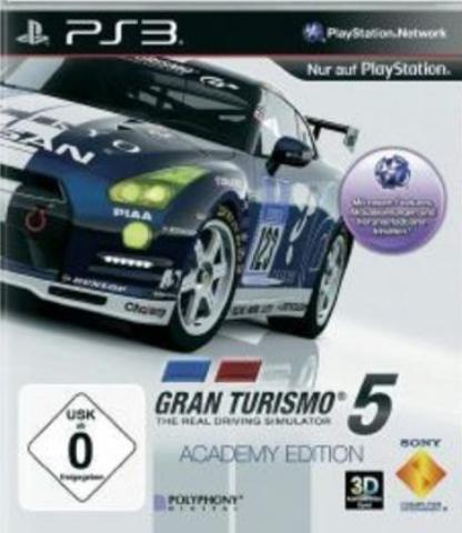 PS3 Gran Turismo 5: Academy Edition (русская версия)