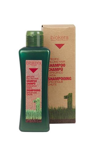 Шампунь против выпадения волос, Biokera SALERM ,300 мл.