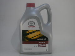 Масло Toyota Engine Oil 5w-40 5 литров