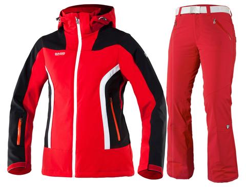 Горнолыжный костюм женский 8848 Altitude Vanice/Denise (red)