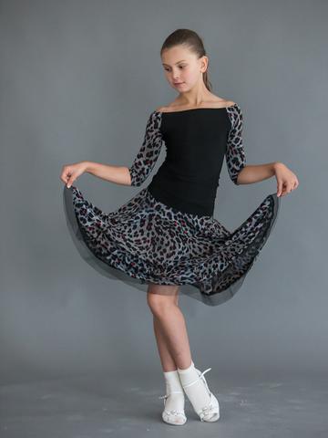 Детский топ для танцев арт. 415