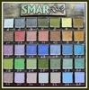 Краска-лак SMAR для создания эффекта эмали, Металлик. Цвет №35 Ниагара