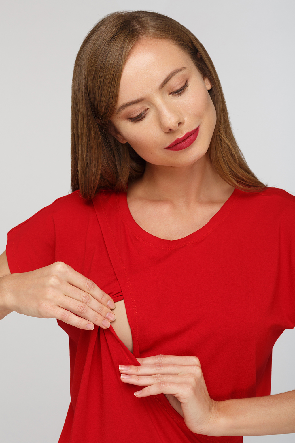 Блуза для будущих и кормящих мам