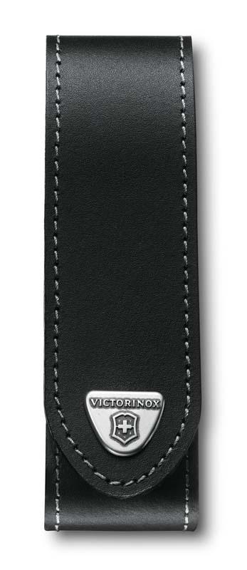 Чехол для RangerGrip 130 мм, чёрный, кожаный, на липучке