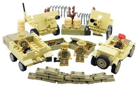 Минифигурки Военных Британская Армия Северо Африканская компания серия 152