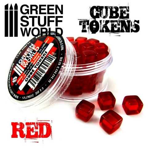 GSW Red Cube tokens