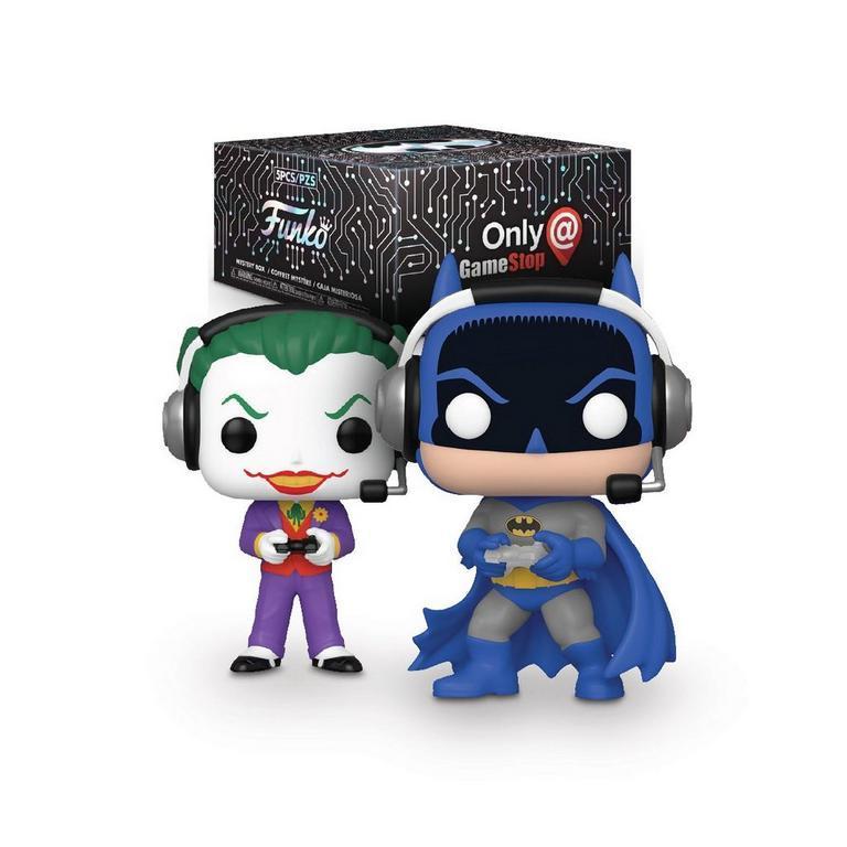 DC Gamer Funko Mystery Box Only at GameStop - купить по выгодной цене   Funko POP Shop