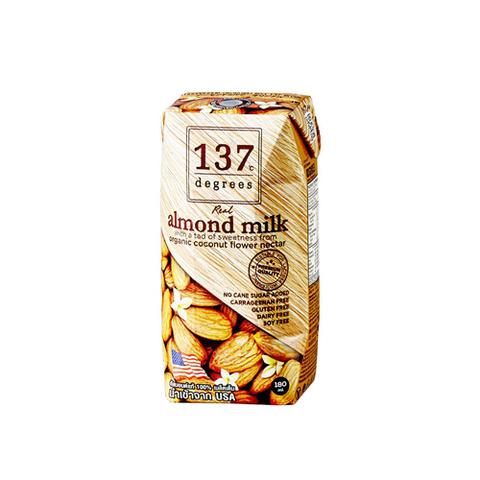 Молоко миндальное с нектаром кокосовых соцветий, 137 degrees, 100 мл