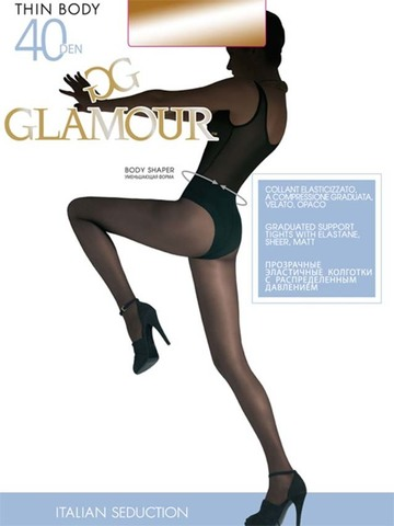 Колготки Thin Body 40 Glamour