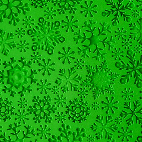 Лист текстурный для мыловарения Снежинки