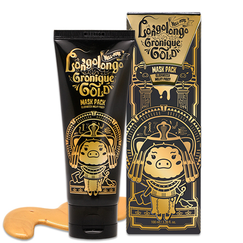 Маска плёнка Elizavecca Hell-Pore Longolongo Gronique Gold Mask Pack 100ml