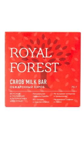 Шоколад из кэроба 75 г, Royal-forest