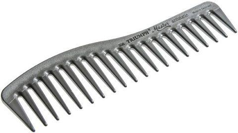 Расчёска изогнутая с редкими зубчиками Triumph