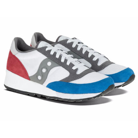 Кроссовки SAUCONY Jazz 91 (White/Red/Blue)