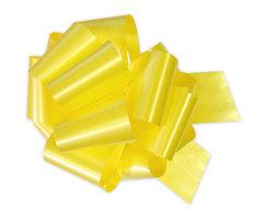 Бант-шар однотонный 50х160 (желтый)