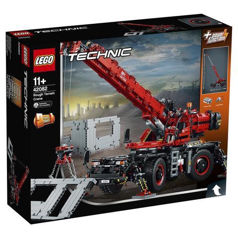 LEGO Technic: Подъёмный кран для пересечённой местности 42082 — Rough Terrain Crane — Лего Техник