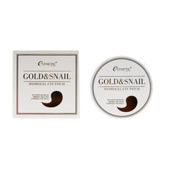 Патчи для глаз Esthetic House Gold & Snail Hydrogel Eye Patch, 60 шт