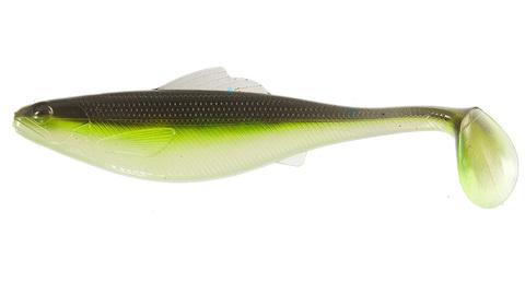 Виброхвост Lucky John Roach Paddle Tail 3.5in (8,9 см), цвет G02, 6 шт.