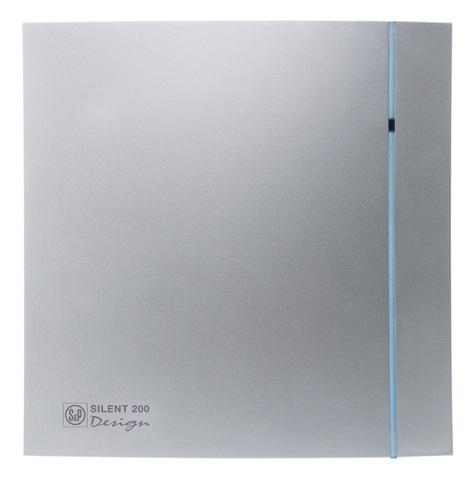 Вентилятор накладной S&P Silent 100 CZ Design Silver