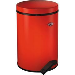 Ведро для мусора 13л Wesco Pedal bin 117 красное