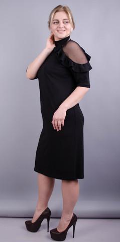 Прага. Чарівна сукня плюс сайз. Чорний.