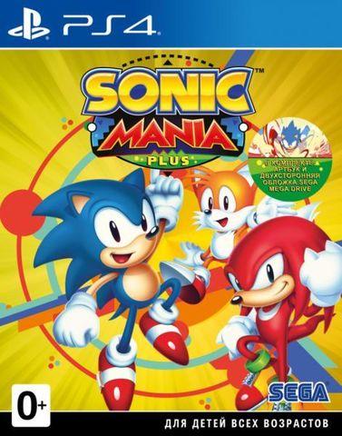 Sony PS4 Sonic Mania Plus (английская версия)
