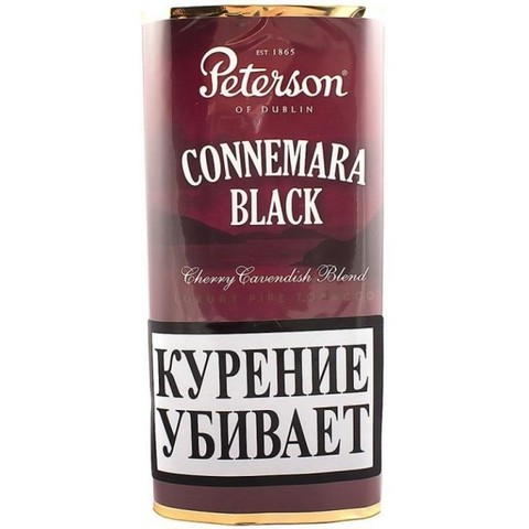 Табак Peterson Connemara Black кисет (40 гр)