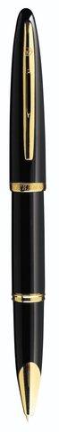 Ручка-роллер Waterman Carene, цвет: Black GT, стержень: Fblk