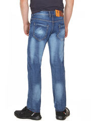 6191 джинсы мужские, синие