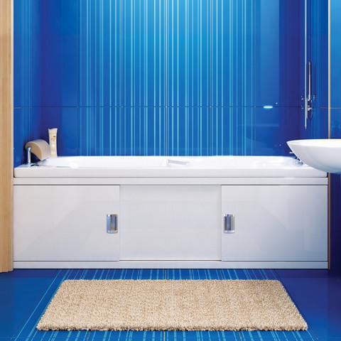 Экран под ванну Still мдф раздвижной 150 см белый