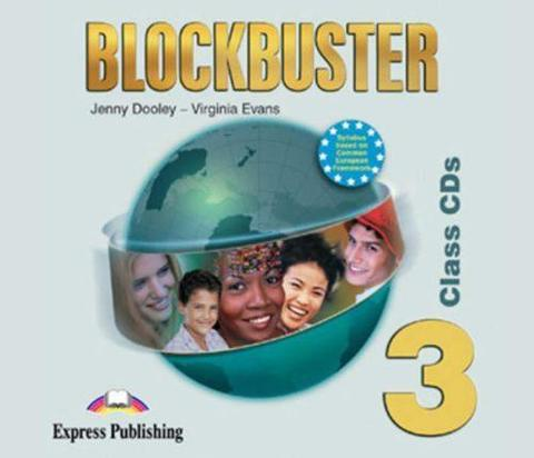 Blockbuster 3. Class Audio CDs. (set of 4). Pre-Intermediate. Аудио CD для работы в классе