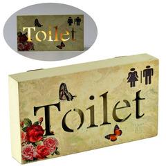 панно «toilet» 18x3x10 см, с подсветкой