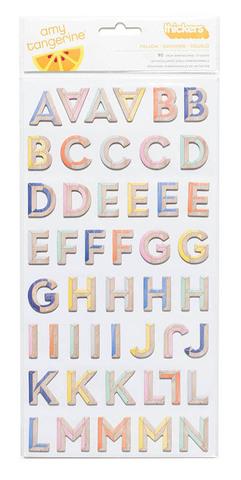 Набор чипборда алфавит из коллекции Finders Keepers