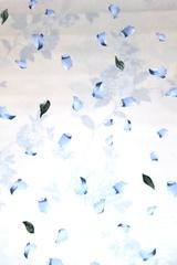 Ткань для штор Mediterraneo Petalos (Медитерранео Петалос) B 02 Azul