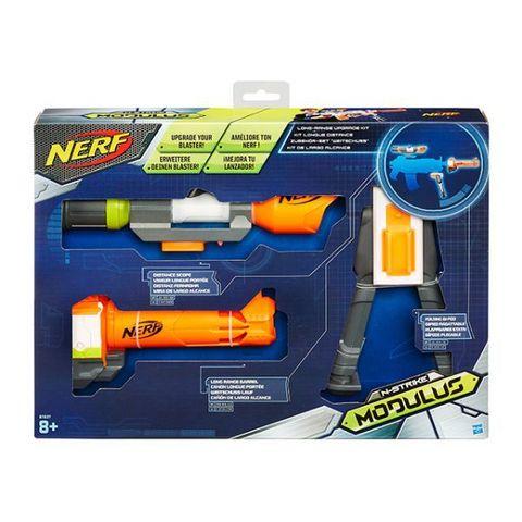 Hasbro: Набор Nerf Модулус сет 4: Меткий стрелок B1537  — Nerf Modulus Long Range — Нерф Нёрф Хасбро