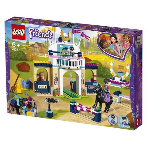 LEGO Friends: Соревнования по конкуру 41367 — Stephanie's Obstacle Course — Лего Френдз Друзья Подружки