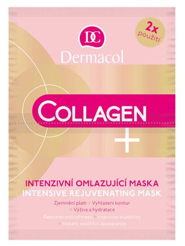 Dermacol Collagen+intensive  Интенсивная омолаживающая коллагеновая маска 35+