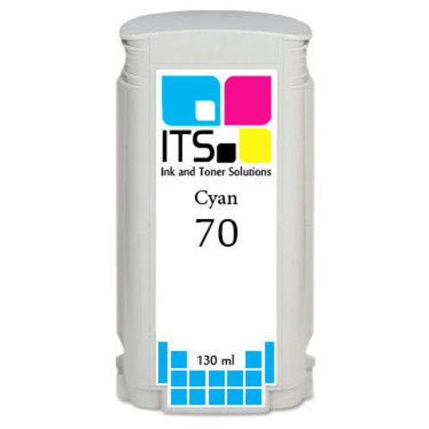 Картридж для HP 70 (C9448A) Cyan 130 мл