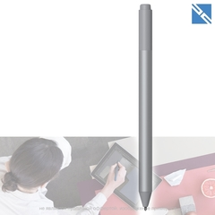 Перо Microsoft Surface Pen 2017, Platinum для Microsoft Surface Pro 3/4/5 и тд, серый
