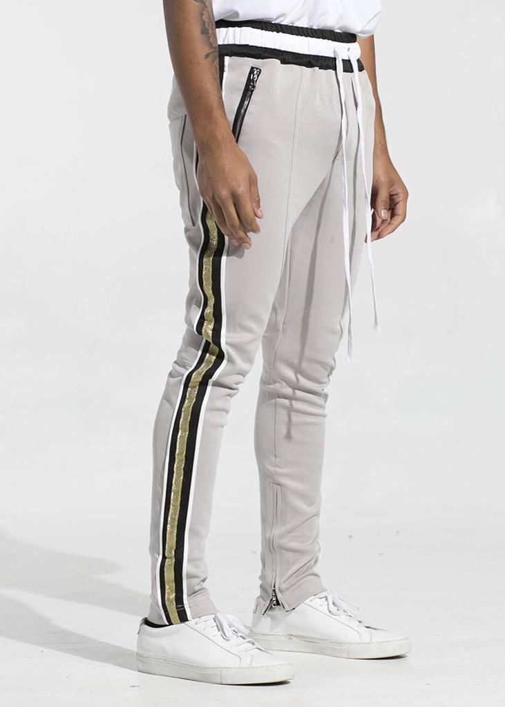 Штаны track pant серые спереди фото 2