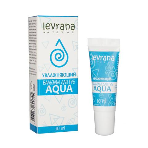 Levrana, Бальзам для губ AQUA увлажняющий, 10гр