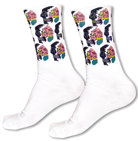 Tatem Socks CALIFORNIA SKULLS
