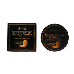 Патчи для глаз Esthetic House Black Pearl & Gold Hydrogel Eye Patch, 60 шт