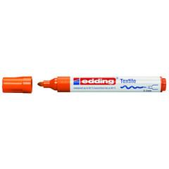 Маркер для текстиля Edding E-4500, оранжевый_006
