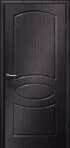 Дверь Сибирь Профиль Неаполь, цвет венге, глухая