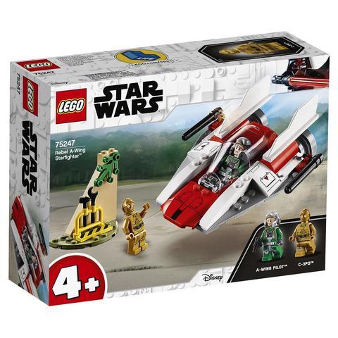 LEGO Star Wars: Звёздный истребитель типа А 75247 — Rebel A-wing Starfighter — Лего Звездные войны Стар Ворз